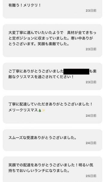 Chompy注文者コメント