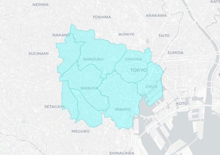 FOODNEKO(フードネコ)サービスエリアマップ