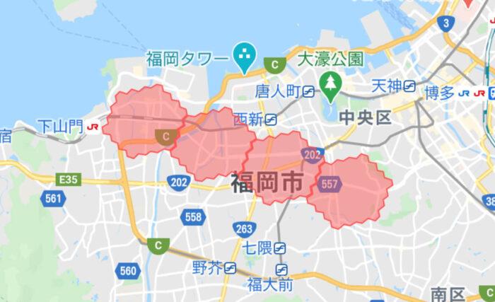 menu福岡拡大エリア