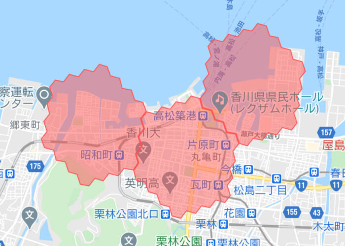 Wolt香川高松サービスエリア