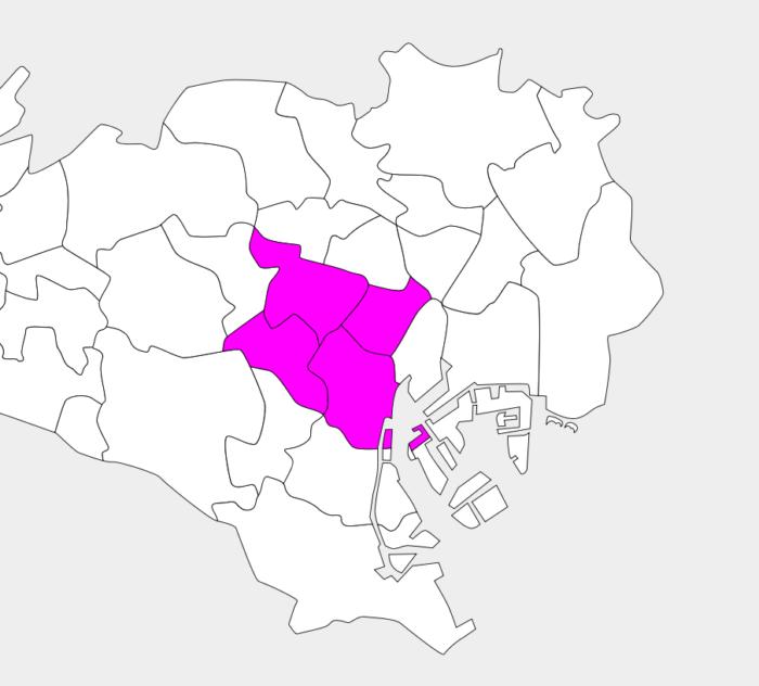 フードパンダ東京エリア