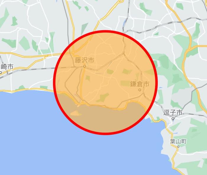 Woltウォルト藤沢鎌倉サービスエリアマップ
